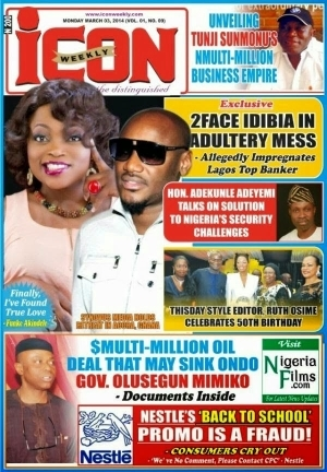 Icon mag apologizes to 2face over pregnancy story after he sued for N100m